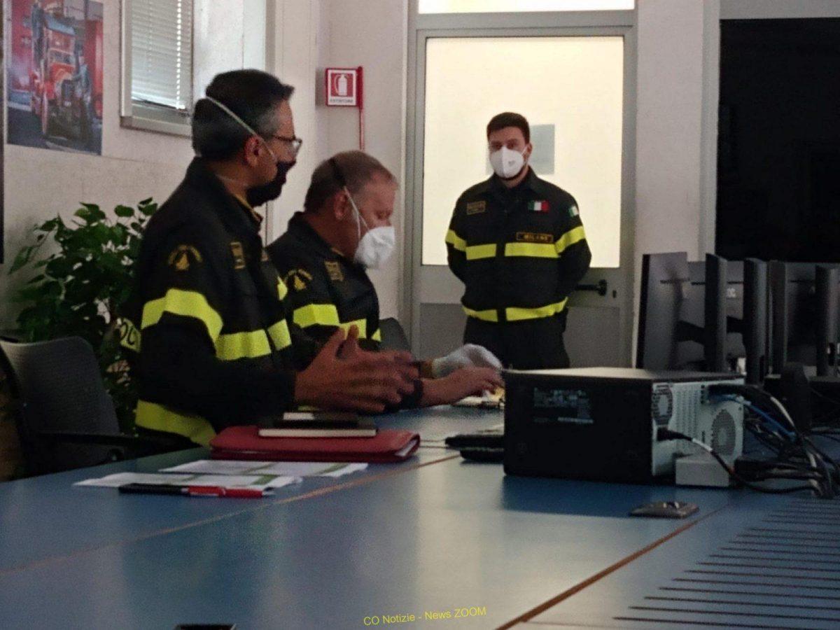 vigili del fuoco Prima Pagina - I Vigili del fuoco di Milano: sicuri nell' emergenza 09/09/2021